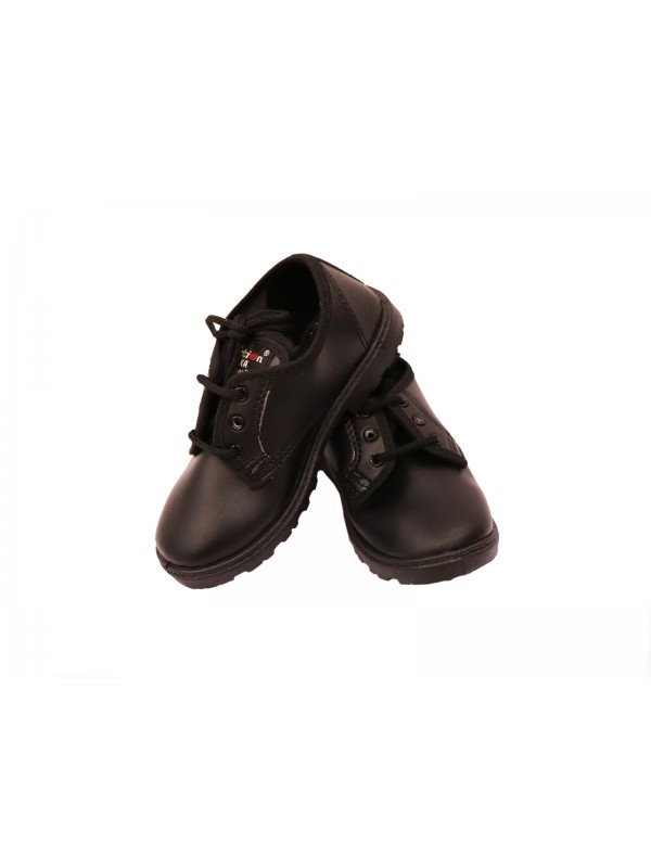 Black Shoes (For Boys with lace) Pre-Nursery to KGII (As Per Company MRP)
