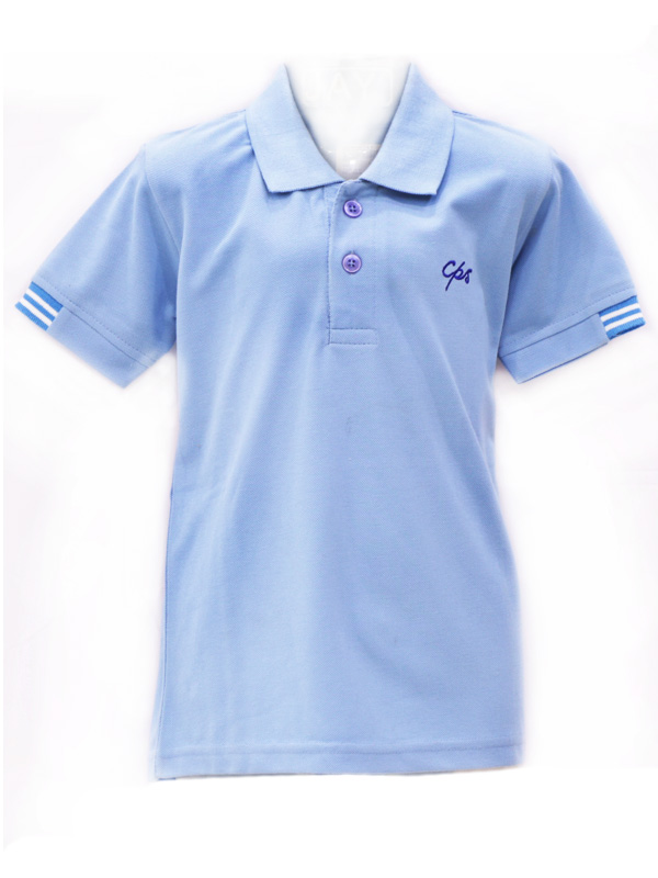 Sky Blue T/Shirt FOR STD. I to V BOYS and GIRLS