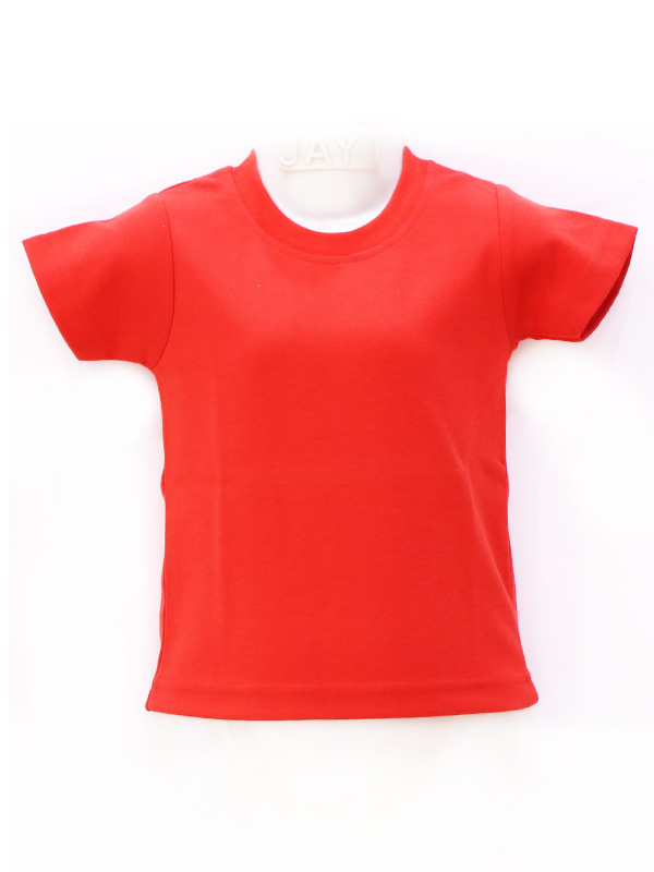 Red T-Shirt (Plain R-Neck)