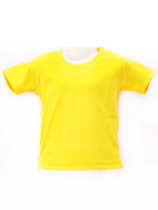 Yellow T-Shirt (Plain R-Neck)