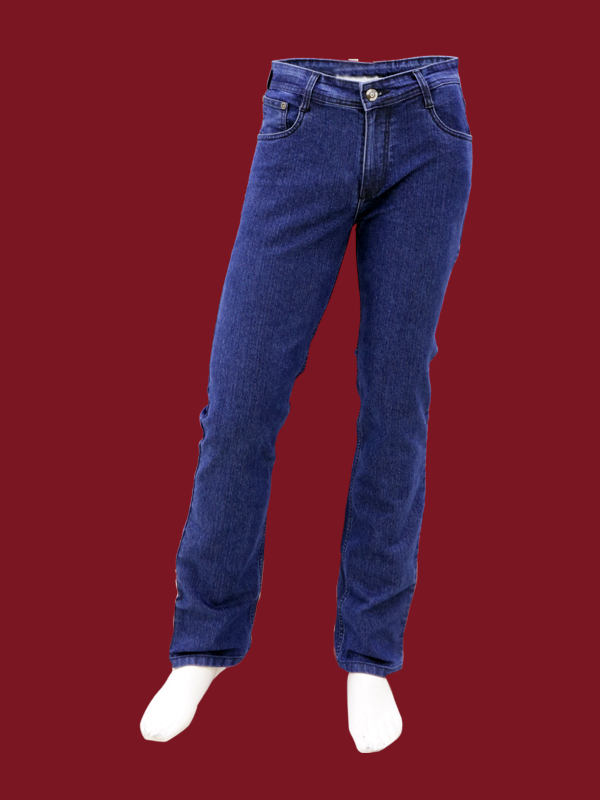 DARK BLUE STRECHABLE JEANS For Boys