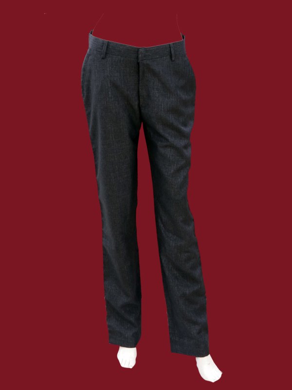SELF BLACK TROUSERS FOR BOYS